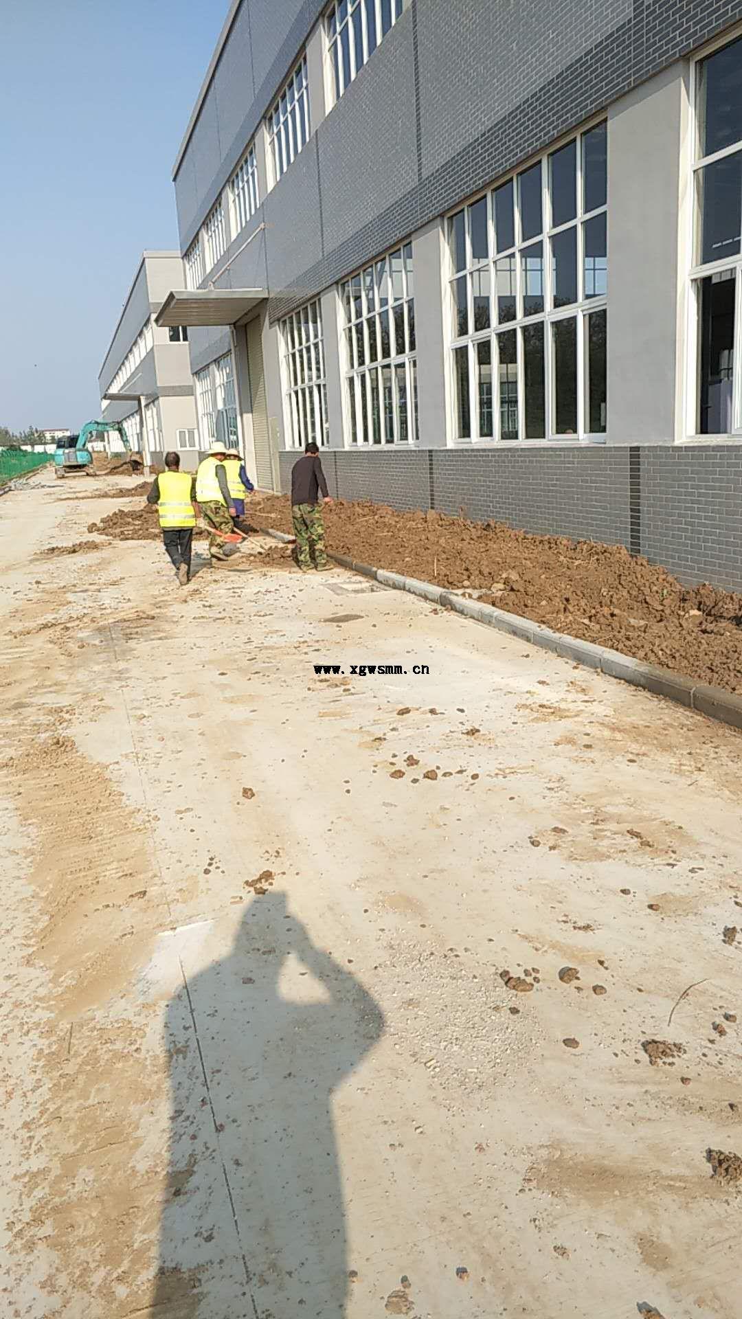 汉川国际企业城绿化